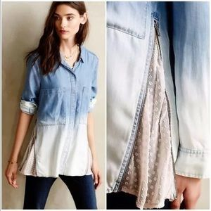 Holding Horses | Chambray Top
